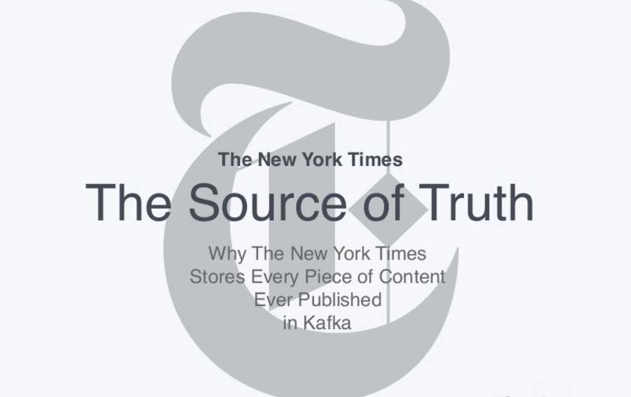 La nuova pipeline editoriale del New York Times